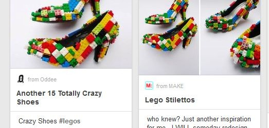 Weird things Pinterest thinks I should be doing