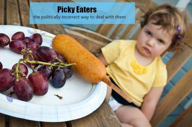 The Politically Incorrect Way to Deal with a Picky Eater